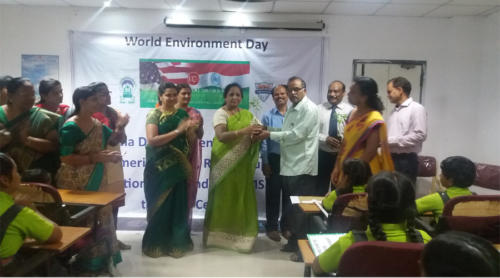 World Environmental Day Celebrations in Rishi M.S Institute Of Engineering & Technology