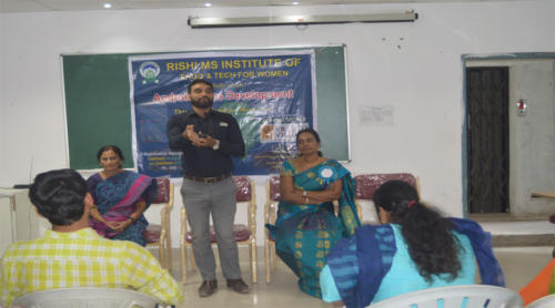 A session on Public Speaking in Rishi M.S Institute Of Engineering & Technology